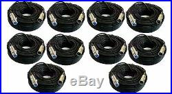 10 New Pack 100Ft XLR 3Pin Male Female Audio Mixer Mic Microphone Balanced Cable