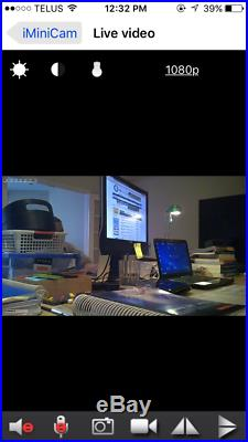 1080P HD Sensor Hidden Motion Detection Spy Camera Tissue Dispenser Audio Box