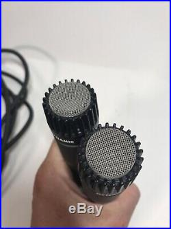 2 Shure SM57 Dynamic Microphone 2 25 Whirlwind Mic Cable 8 Mic Audio Cable