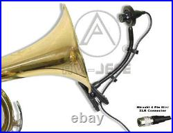 2 x Instrument Mic Horn Saxophones for Audio-Technica Wireless ATW 210 310 1400