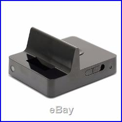 2K Resolution Dock Charging Station Iphone Android Type Hidden Spy Camera Audio