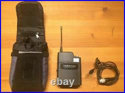 2x Audio-Technica Wireless Lapel Mic System Complete kit with case & cables