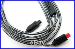 3.5mm 5N OFC Cable With Mic For Audio-technica ATH-IM50 IM70 IM01 IM02 IM03 IM04