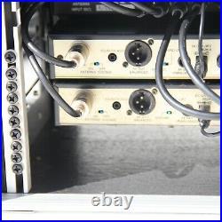 4 way audio technica radio mic rack suit trantec Sennheiser allen and heath zed