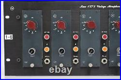 6 Vintage Neve 1272 Microphone Mic Preamp Modules in SVT Audio Rack #43169