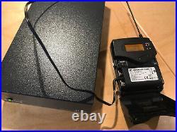 6x SENNHEISER DC2 Battery eliminators With Extron 12 Volt PSU For Radio Mics