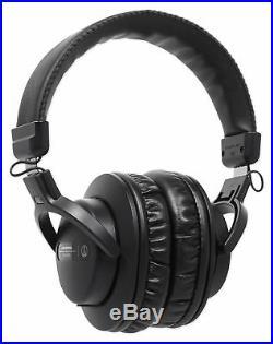 AKG C214 Studio Recording Mic+Audio Technica Headphones+Microphone Vocal Shield