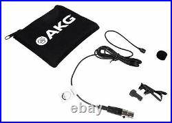 AKG C417 L Clip on Lavalier Microphone Sermon Lav Mic For Church Sound Systems