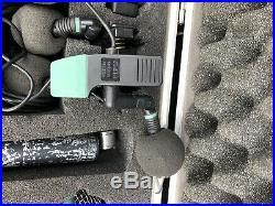 AKG Drum Mic Set (1 x D112 + 4 x C418) Also Audio Technica Overhead C/w Case