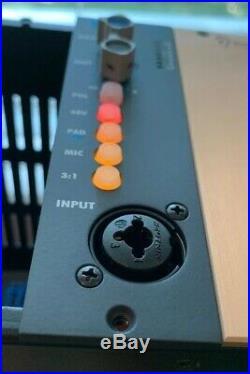 API Audio 512v Mic Preamp S/N 0484-16 500 Series Lunch Box Microphone Pre