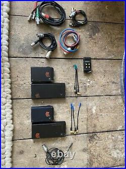 AUDIO LTD 2040 Radio Mic x 2 (used) cables + cos11