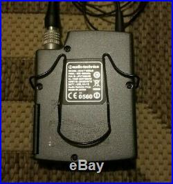 AUDIO-TECHNICA AEW-T1000A UHF BELTPACK AND LAVALIER MIC, 655-680 MHz