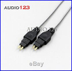 AUDIO123 Headphone cable cord for Sennheiser HD580 HD600 HD650 with mic New