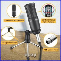 All-In-On Microphone Mixer Kit AM200-S1 Sound Card Audio Podcast for PC, Phone