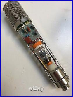 Apex 460 multi-pattern tube condenser mic with RK47 capsule and Fox Audio mods