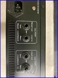 Art Pro Channel Strip II 2 Microphone Tube Mic Preamp Pro Audio Studio Rack Gear