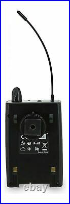 Asgao PV70 Portable Wireless Audio System Transmit Mic, Line + Headphone Out