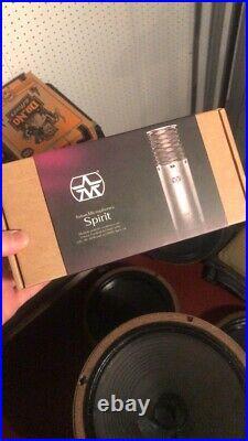 Aston Spirit Professional Condenser Microphone Multi Pattern Mic Xlr Audio Sound