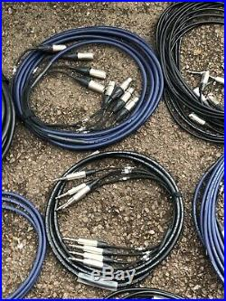 Audio Cable (JOB-LOT) Hi Quality Audio Cables Looms, Patch leads, Mic Leads. Etc
