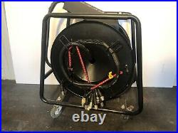 Audio Multicore XLR 25m Stage Box Snake multi core mic cable reel Dolly