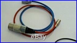 Audio RMS 2000 RADIO MIC ON 6 PIN LEMO with MKE 2 Can post