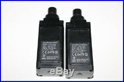 Audio Technica 2-Channel Camera Wireless Mic Microphone Set ATW-R1820 ATW-T1802