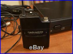 Audio Technica 2000 Series Wireless Lavalier Mic Set ATW-2129 with Case