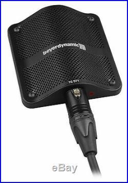 Audio Technica (3) Microphones+Beyerdynamic Boundary Bass Drum/Cajon/Piano Mic