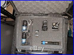 Audio Technica 7 Piece Drum Mic Set Peli 1450 Kit Microphone Instrument Band