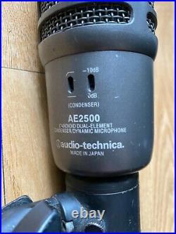 Audio-Technica AE2500 Dual-Element Cardioid Bass Drum Mic