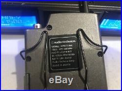 Audio-Technica AEW-R5200 with AEW-T1000 Body Pack & ATW-T341b Mic. 655-680 MHz