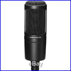 Audio Technica AT2020 Cardioid Condenser Mic with Mic Stand & Cable