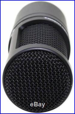 Audio Technica AT2020 Studio Recording Microphone-Cardioid Condenser+Mic Stand