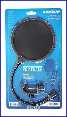 Audio Technica AT2020USB+ PLUS USB Podcast Recording Microphone Mic+Pop filter