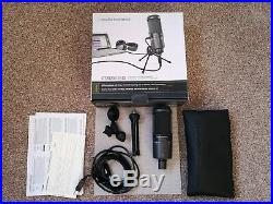 Audio-Technica AT2020USB+ USB Condenser Mic Used with all packaging