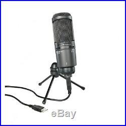 Audio Technica AT2020USBPLUS Cardioid Condenser Mic
