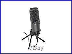 Audio Technica AT2020USBi USB Cardioid Condenser Large Diaphragm Mic NEW