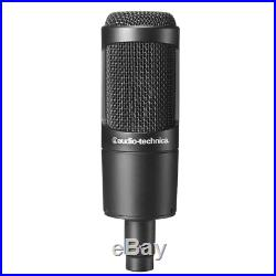 Audio-Technica AT2035 Cardioid Condenser Mic- for Studio Podcasting Streaming