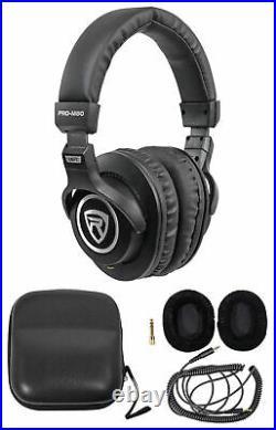 Audio Technica AT2035 Cardioid Condenser Studio Microphone/Mic+Case+Headphones
