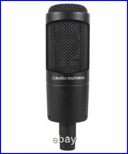 Audio Technica AT2035 Cardioid Condenser Studio Microphone/Mic+Case+XLR Cable