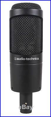Audio Technica AT2035 Side Address Cardioid Condenser Studio Microphone/Mic+Case