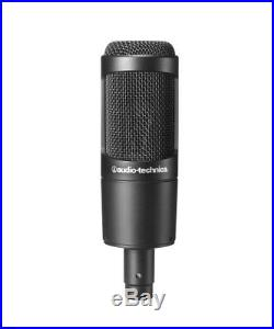 Audio-Technica AT2035PK Streaming/Podcast Studio Mic Pack with Boom & Headphones