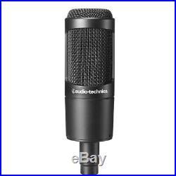 Audio Technica AT2035PK Studio Mic Recording Package-Microphone+Headphones+Boom
