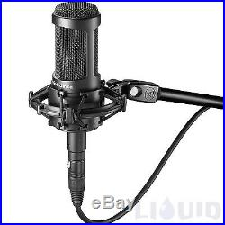 Audio-Technica AT2050 Multi-Pattern Condenser Mic + Shockmount NEW FREE 2DAY SHI