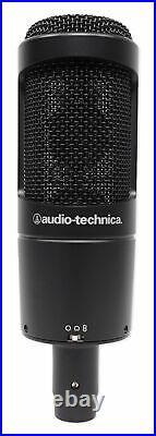 Audio Technica AT2050 Side-Address Studio Condenser Recording Microphone Mic