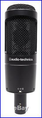 Audio Technica AT2050 Studio Condenser Recording Microphone Mic+Isolation Shield