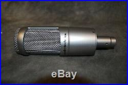 Audio Technica AT3060 Tube Condenser Microphone Mic NEW Case Shockmount