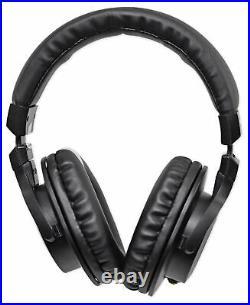 Audio Technica AT4033A Condenser Microphone Mic+Presonus Monitors+Headphones