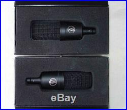 Audio Technica AT4033A Mic Pair, withShockmounts, Cases, Close Serial Numbers