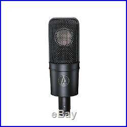Audio-Technica AT4040 Cardioid Condenser Mic wi/Shock Mount + Headphone & Cable